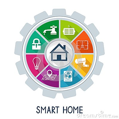 Free Smart Home Automation Technology Concept Royalty Free Stock Photos - 38411158