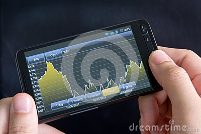 Smart materiel för diagramtelefon