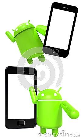 Smart Phone Editorial Photo