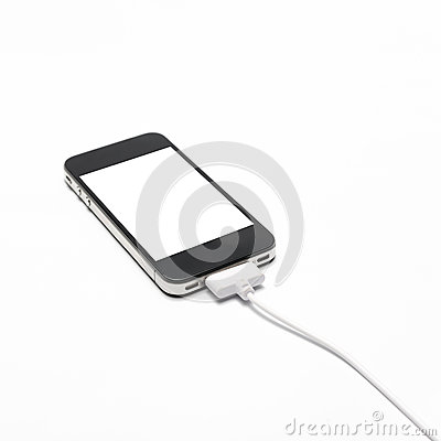 Free Smart Phone Charging Royalty Free Stock Images - 54067089