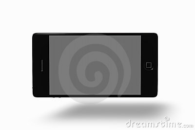 Smart Phone with clipping paths Editorial Stock Photo