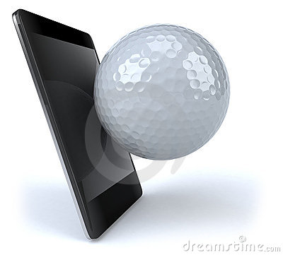 Smart phone and golf