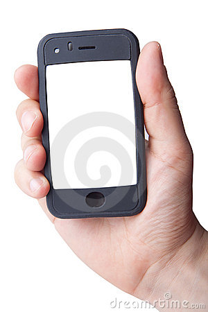 Free Smart Phone In Hand Stock Photography - 9049172