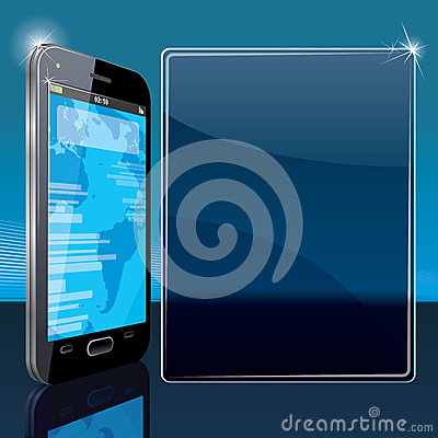 Smart Phone Poster Template