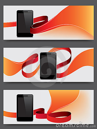 Smart phone promotion banners