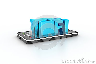 Smart phone with wi-fi