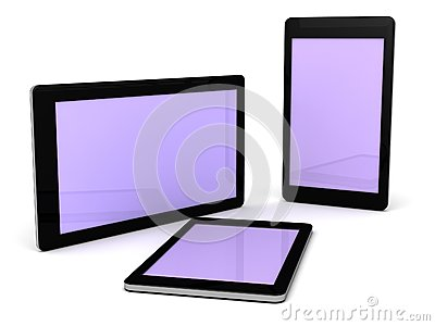 Smart phones and Tablets electronic gadgets
