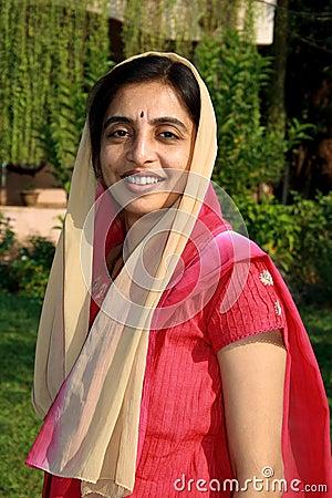 Smart Punjabi Woman