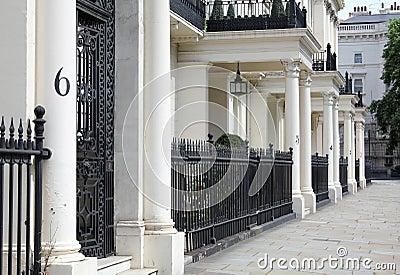 Smart street in London