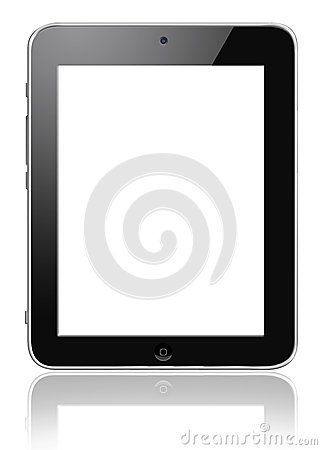 Smart Tablet Touch Screen pc Editorial Photo