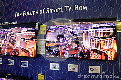 Smart TV Editorial Stock Image