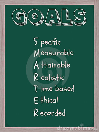 Smarter Goals Blackboard
