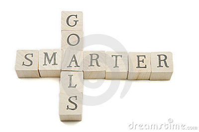 Smarter Goals Wooden Blocks