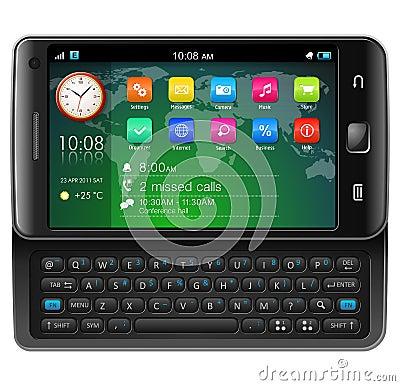 副滑子smartphone触摸屏