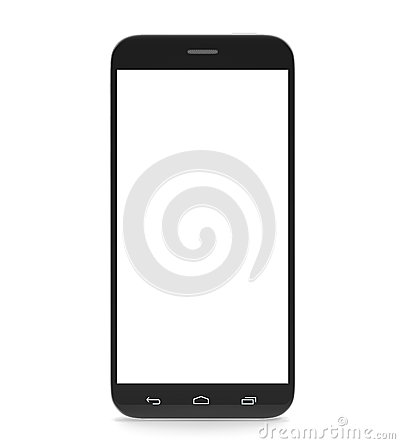 Free Smartphone, Cell Phone, With A Blank Screen Stock Images - 54299194