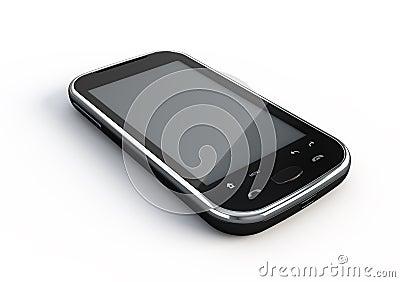 Smartphone do écran sensível