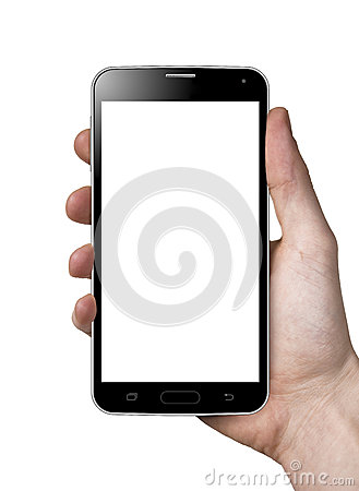 Free Smartphone In Hand Royalty Free Stock Photography - 39254987