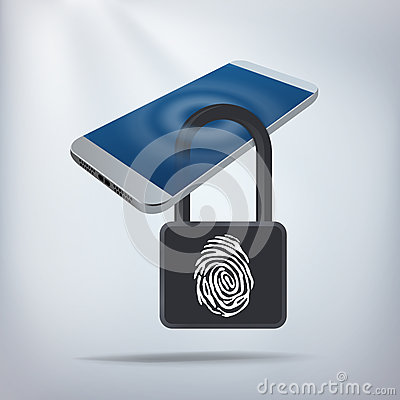 Free Smartphone Privacy Concept Royalty Free Stock Images - 44416949