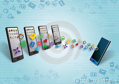 Smartphones Data and Content Transfer