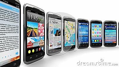 Smartphones en mobiele toepassingen