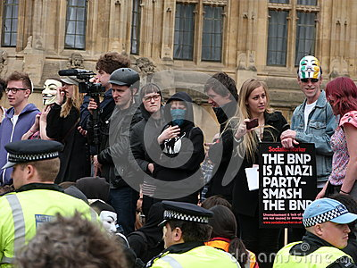 Smash the BNP Editorial Image
