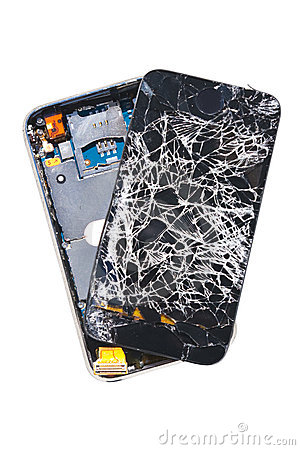 Smashed Mobile Phone Stock Photos & Smashed Mobile Phone Stock ...