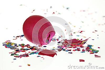 Smashed Confetti Egg
