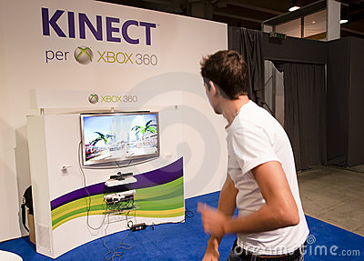 SMAU 2010 - Kinect Editorial Photography