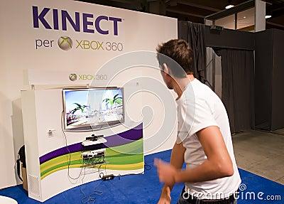 SMAU 2010 - Kinect Fotografía editorial