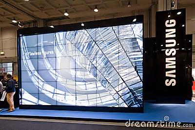 SMAU 2010 - Samsung Editorial Image