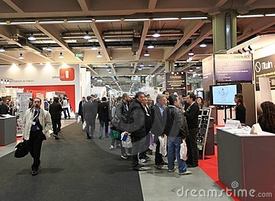 Smau 2011 Editorial Stock Photo