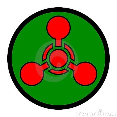 Símbolo da arma química