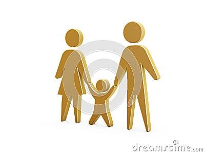 Símbolo da família