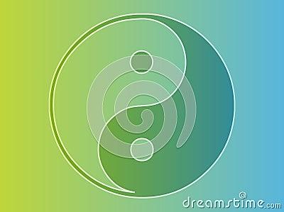 Símbolo de Yin Yang