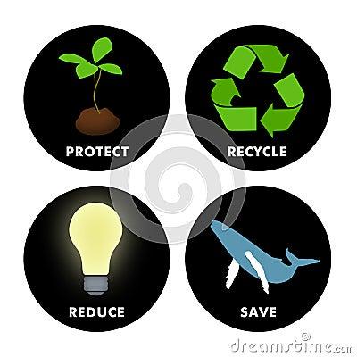 Símbolos ambientales