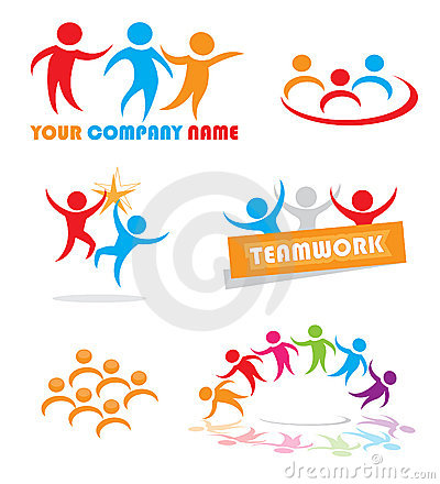 Símbolos del trabajo en equipo