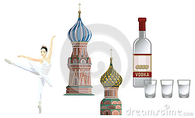 Símbolos do russo