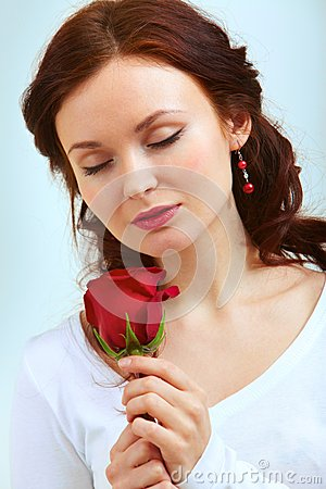 Smell of rose