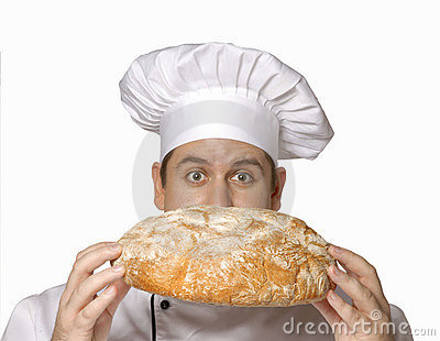 Smelling my bread