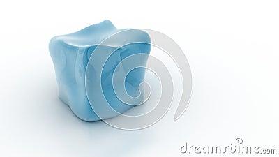 Smeltende kubus