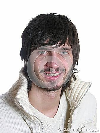 Smile beardman
