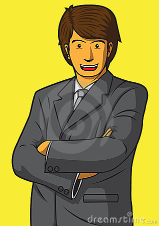 Smile businessman