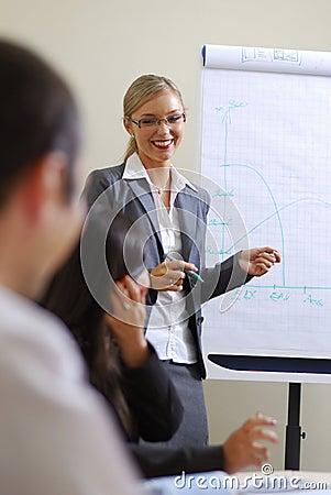 Free Smile Businesswoman Stock Image - 3198661