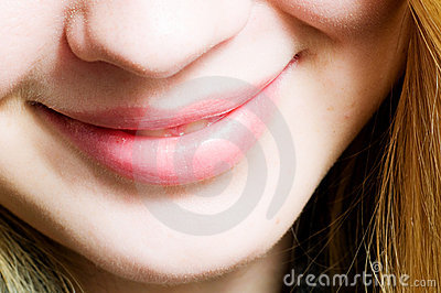 Smile. close-up mouth