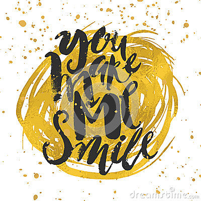 Free Smile Concept Inspirational Phrase.Smiles Are Always In Fashion. Royalty Free Stock Image - 64255306