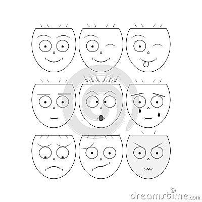 Free Smile Icons/Vector Smile Stock Photos - 72802893