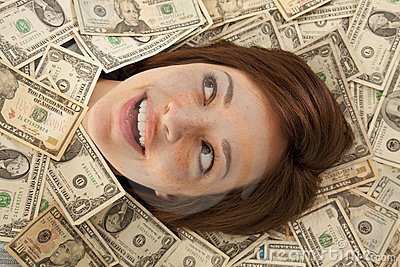 Smile out of money