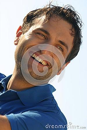 Smile portrait of a man