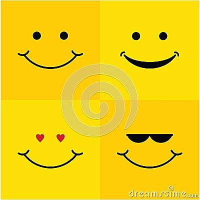 Free Smile Set Vector Template Design Illustration Stock Photos - 123871733