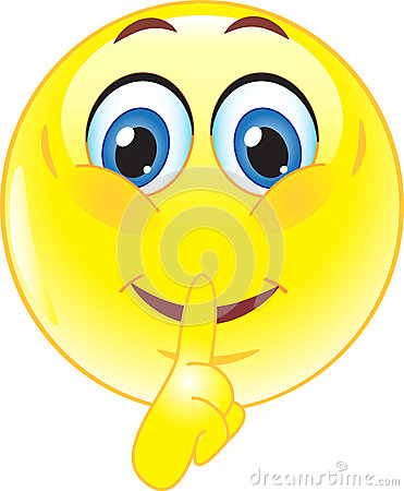 Silence Clipart Smile-silence-stock-image- ...